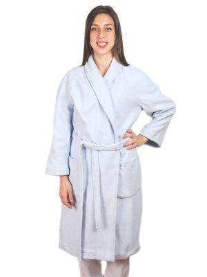 Дамски медицински халат М-105.24 - светло син