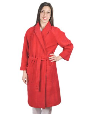 Дамски медицински халат М-105.3 - червен