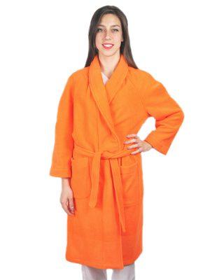 Дамски медицински халат М-105.32 - оранжев