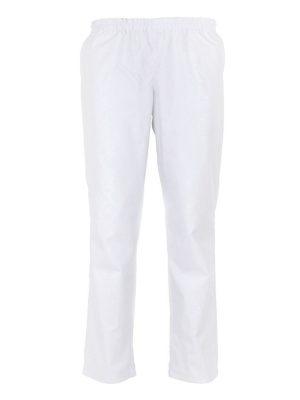 Дамски работен панталон М-1 К- 01-1 - бял