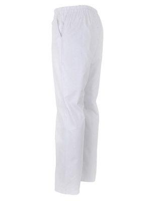 Дамски работен панталон М-1 К- 01-2 - бял