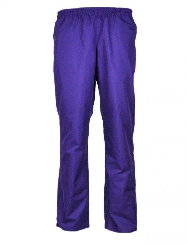 Дамски работен панталон М-1 К-19189-1 - лилав