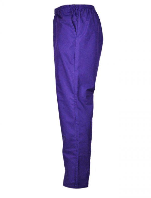 Дамски работен панталон М-1 К-19189-2 - лилав