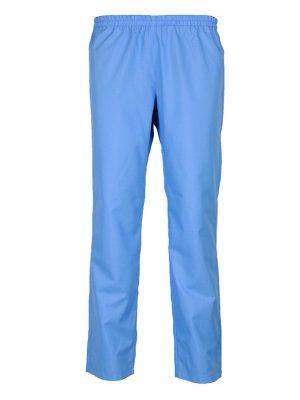 Дамски работен панталон М-1 К-297 - светло син