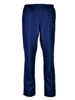Дамски работен панталон М-1 К-636 - тъмно син - 1