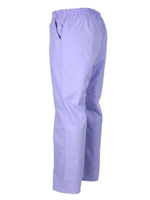Дамски работен панталон М-1К -6963-2 - светло лилав