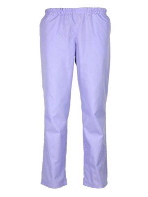 Дамски работен панталон М-1К - светло лилав